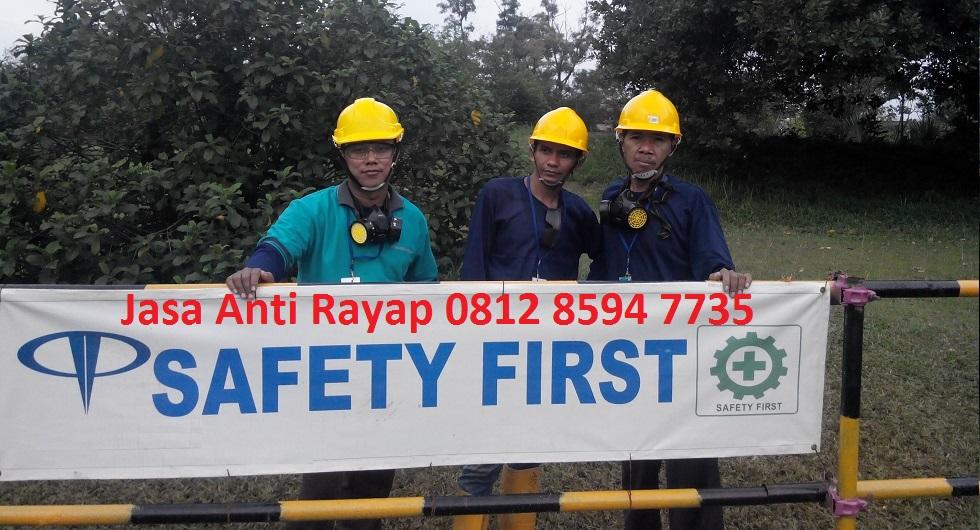 Jasa Pengendalian Anti Rayap Pra Konstruksi di Jakarta